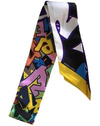 Hermès - Pre-owned Twilly Multicolour Silk Scarves - Lyst