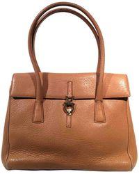 Ferragamo - Pre-owned Camel Leather Handbags - Lyst d6db14b201b39