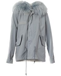 Mr & Mrs Italy - Pre-owned Blue Cotton Coat - Lyst