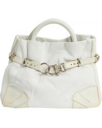 Sonia Rykiel - Martha White Leather Handbag - Lyst