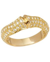 Cartier - Yellow Gold Ring - Lyst
