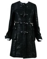 Givenchy - Pre-owned Black Other Trench Coat - Lyst