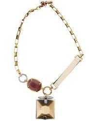 Missoni - Multicolour Metal Necklace - Lyst