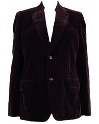 Louis Vuitton - Velvet Jacket - Lyst