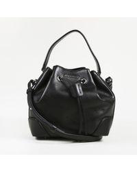 85f30ca93c Givenchy - Lucrezia Black Leather Handbag - Lyst