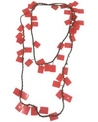 Chanel - Pre-owned Vintage Multicolour Metal Necklaces - Lyst