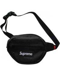 Supreme - Black Cloth Bag - Lyst