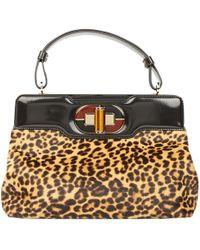BVLGARI - Leopard Print Handbag - Lyst