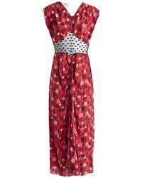 Anna Sui - Maxi vestido - Lyst