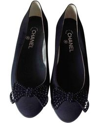 Chanel | Cloth Ballerines | Lyst