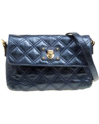 117a298abdd9 Lyst - Marc Jacobs Shoulder Bag Quilted Baroque Xl Single in Natural