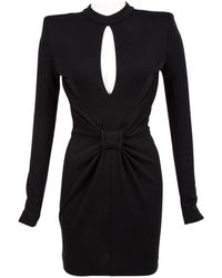 Balmain - Wool Mid-length Dress - Lyst