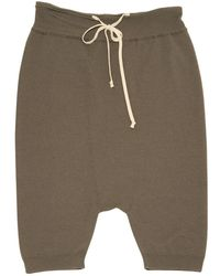 Rick Owens - Pre-owned Wool Short Trousers - Lyst