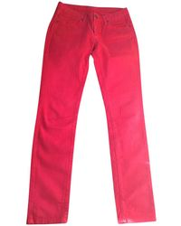 Maje - Pre-owned Straight Jeans - Lyst