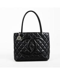Chanel - Médaillon Leather Handbag - Lyst