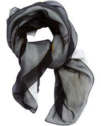 Givenchy - Pre-owned Silk Foulard Scarf - Lyst