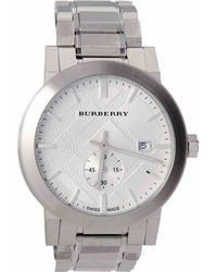 Burberry - Silver Steel - Lyst