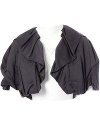 Lanvin - Linen Short Vest - Lyst
