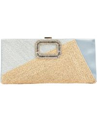Roger Vivier - Cloth Clutch Bag - Lyst