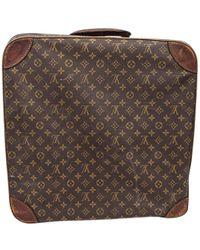 Louis Vuitton - Canvas Travel Bag - Lyst