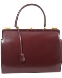 62c18379ffc5 ... coupon for hermès leather handbag lyst 0886e 16616 new arrivals hermes  plume ...