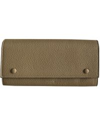Céline - Pre-owned Leather Clutch - Lyst