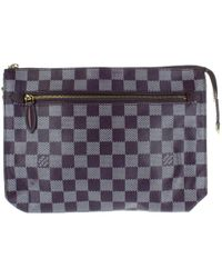 Louis Vuitton - Purple Cloth Handbag - Lyst