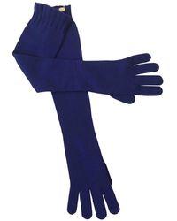 Maison Margiela - Pre-owned Cashmere Long Gloves - Lyst