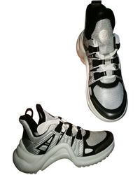 Louis Vuitton - Pre-owned Archlight Leather Trainers - Lyst