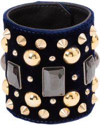 Givenchy - Pre-owned Navy Metal Bracelets - Lyst