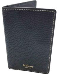 35272b7ba1 Mulberry Tree Leather Pouch in Black for Men - Lyst