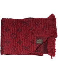 Louis Vuitton - Pre-owned Wool Scarf - Lyst
