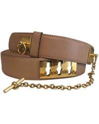 Céline - Leather Belt - Lyst