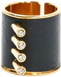 Louis Vuitton - Leather Ring - Lyst