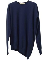Stella McCartney - Pre-owned Blue Wool Knitwear - Lyst