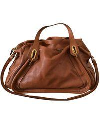 Chloé - Paraty Leather Handbag - Lyst