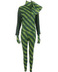 Jean Paul Gaultier - Vintage Black Cotton Jumpsuits - Lyst