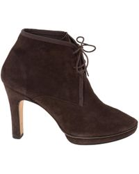 Repetto - Lace Up Boots - Lyst