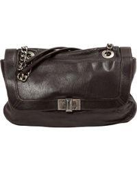 Lanvin - Pre-owned Happy Leather Handbag - Lyst