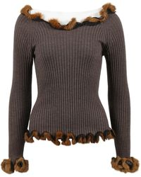 Jean Paul Gaultier - Pre-owned Wool Sweatshirt - Lyst