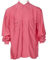 Equipment - Pink Silk Shirts - Lyst