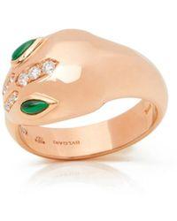 BVLGARI - Serpenti Pink Pink Gold - Lyst