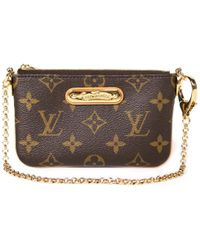 Louis Vuitton - Pre-owned Milla Cloth Clutch Bag - Lyst