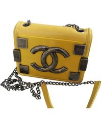 Chanel - Légo Leather Handbag - Lyst