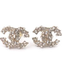 Chanel - Pre-owned Earrings - Lyst