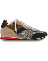 Etro - Pre-owned Cloth Trainers - Lyst