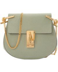 Chloé - Pre-owned Drew Leather Crossbody Bag - Lyst