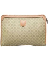 Céline - Pre-owned Cloth Clutch Bag - Lyst