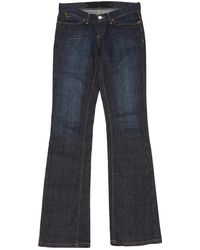 Barbara Bui - Pre-owned Blue Cotton - Elasthane Jeans - Lyst