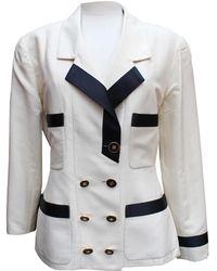 Chanel - Silk Jacket - Lyst